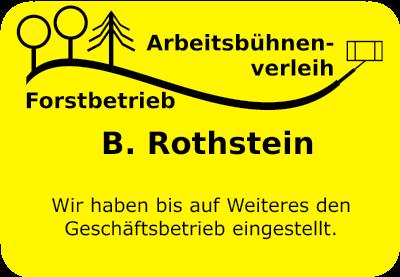 B. Rothstein Arbeitsbühnenverleih